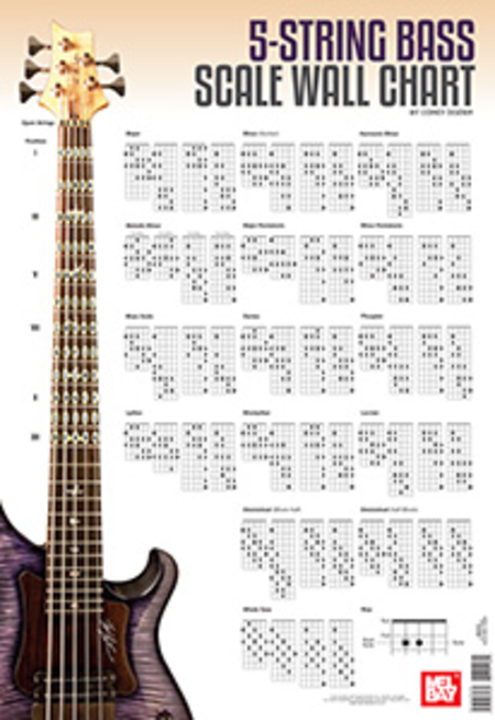 5 string bass scale wall chart sheet music by corey dozier sheet music plus. Black Bedroom Furniture Sets. Home Design Ideas