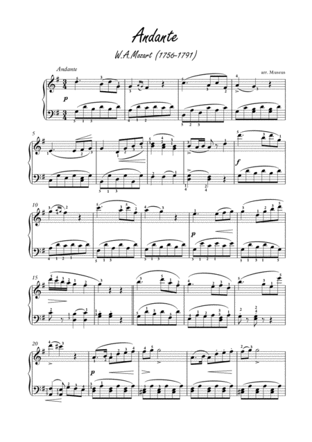 Masterpieces for easy piano 9 by Mozart and Chopin
