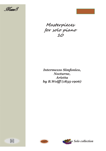 Masterpieces for solo piano 10 by Wolff