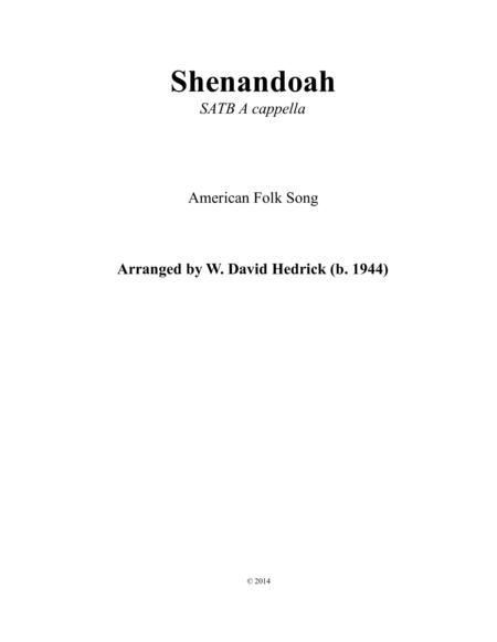 Oh Shenandoah