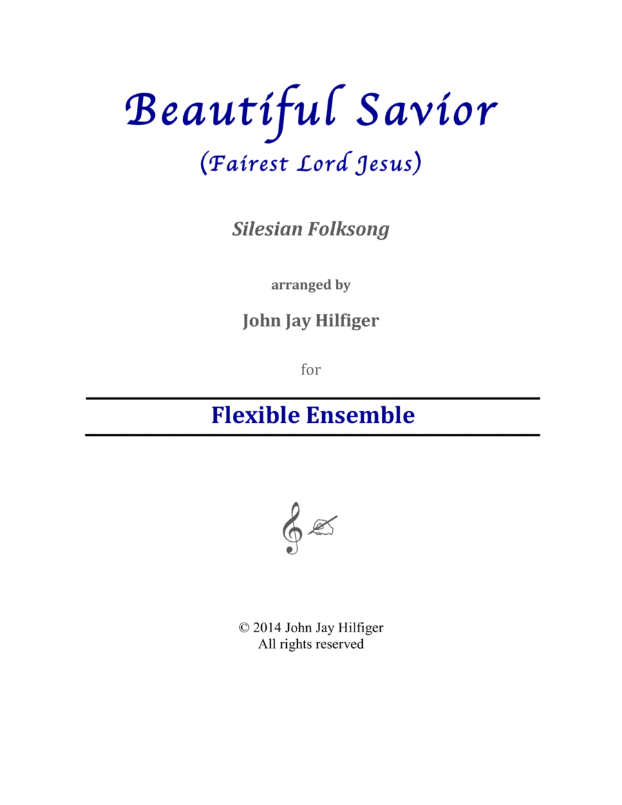 Beautiful Savior: Meditation on a Silesian Folksong
