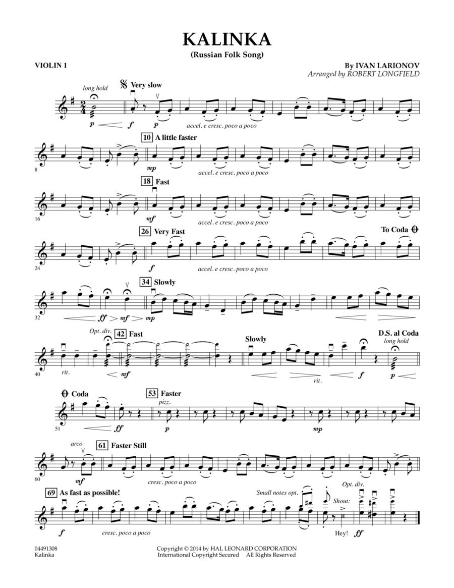 Kalinka - Violin 1
