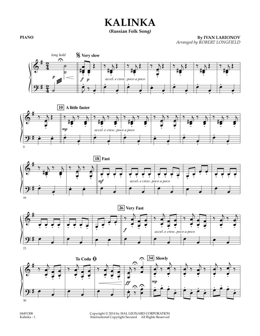 Kalinka - Piano