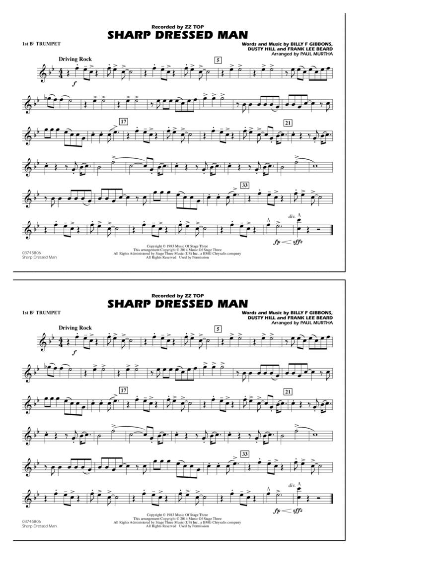 Sharp Dressed Man - 1st Bb Trumpet