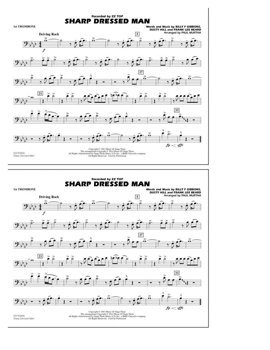 Sharp Dressed Man - 1st Trombone