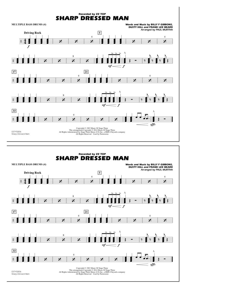 Sharp Dressed Man - Multiple Bass Drums