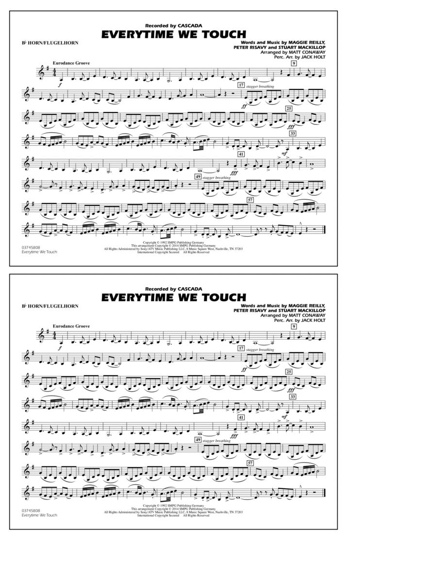 Everytime We Touch - Bb Horn/Flugelhorn