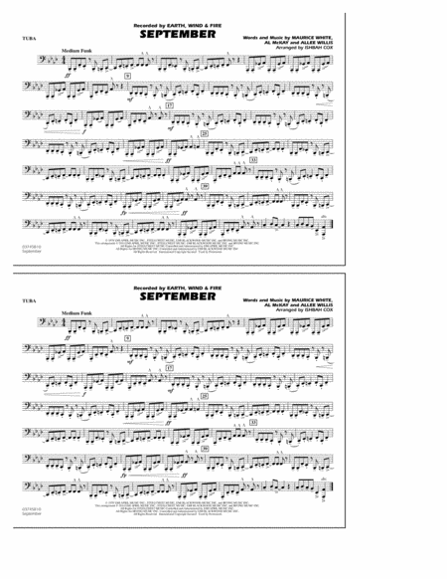 September - Tuba