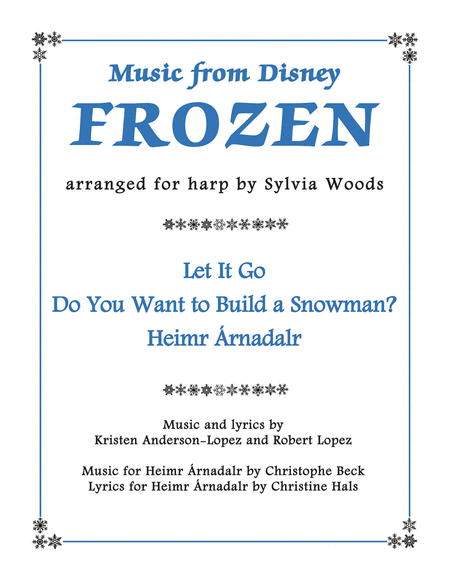 Music from Disney's Frozen for Harp