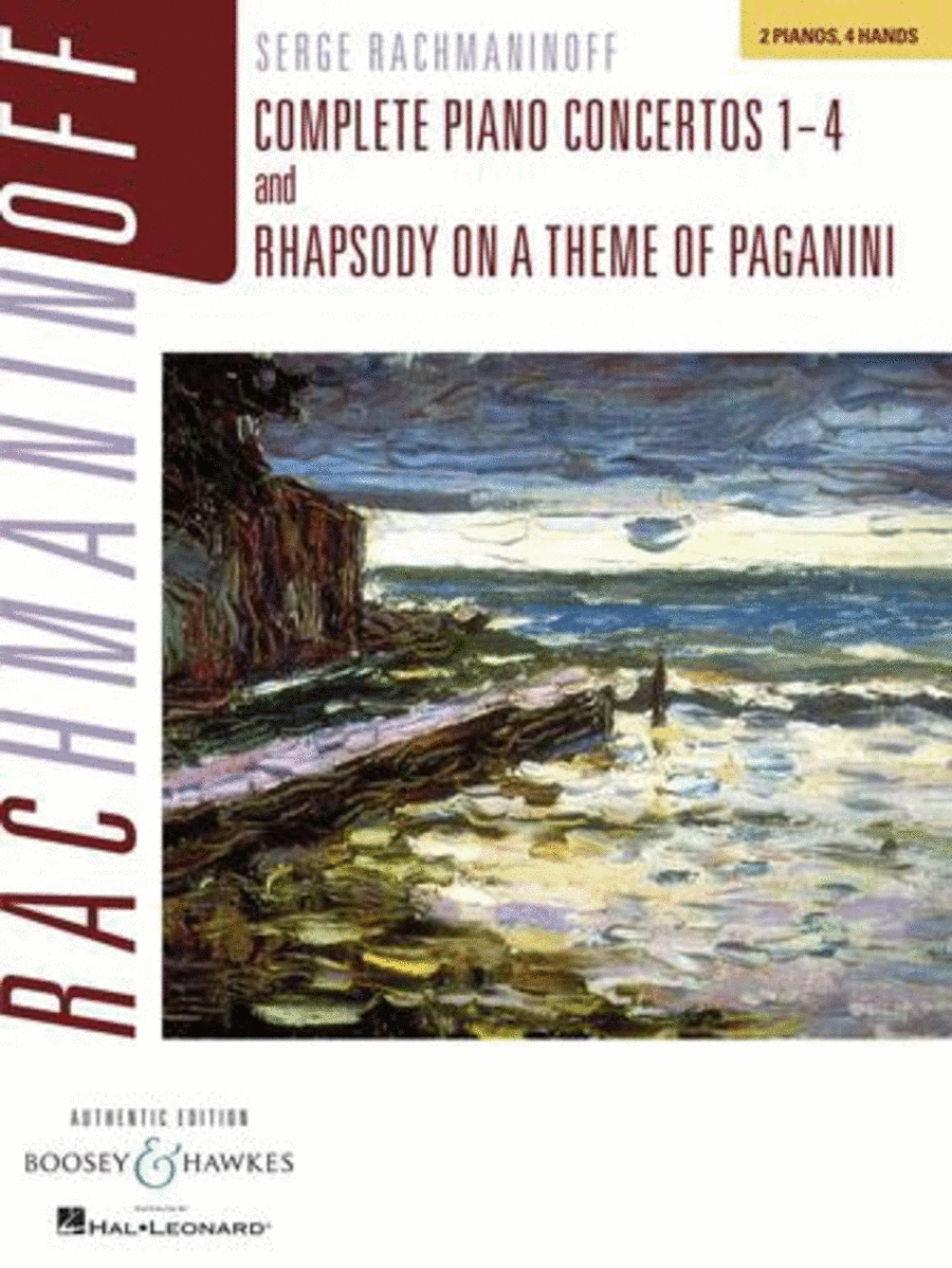 Complete Piano Concertos Nos. 1-4 & Rhapsody on a Theme of Paganini