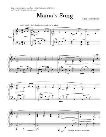 Mama's Song
