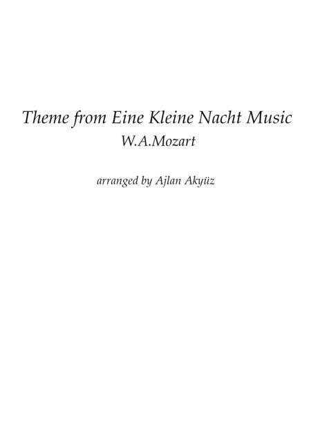 Theme from Eine Kleine Nachtmusik