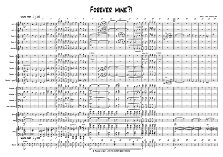 Forever Mine - Big band