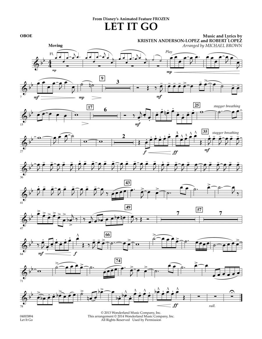 Let It Go - Oboe