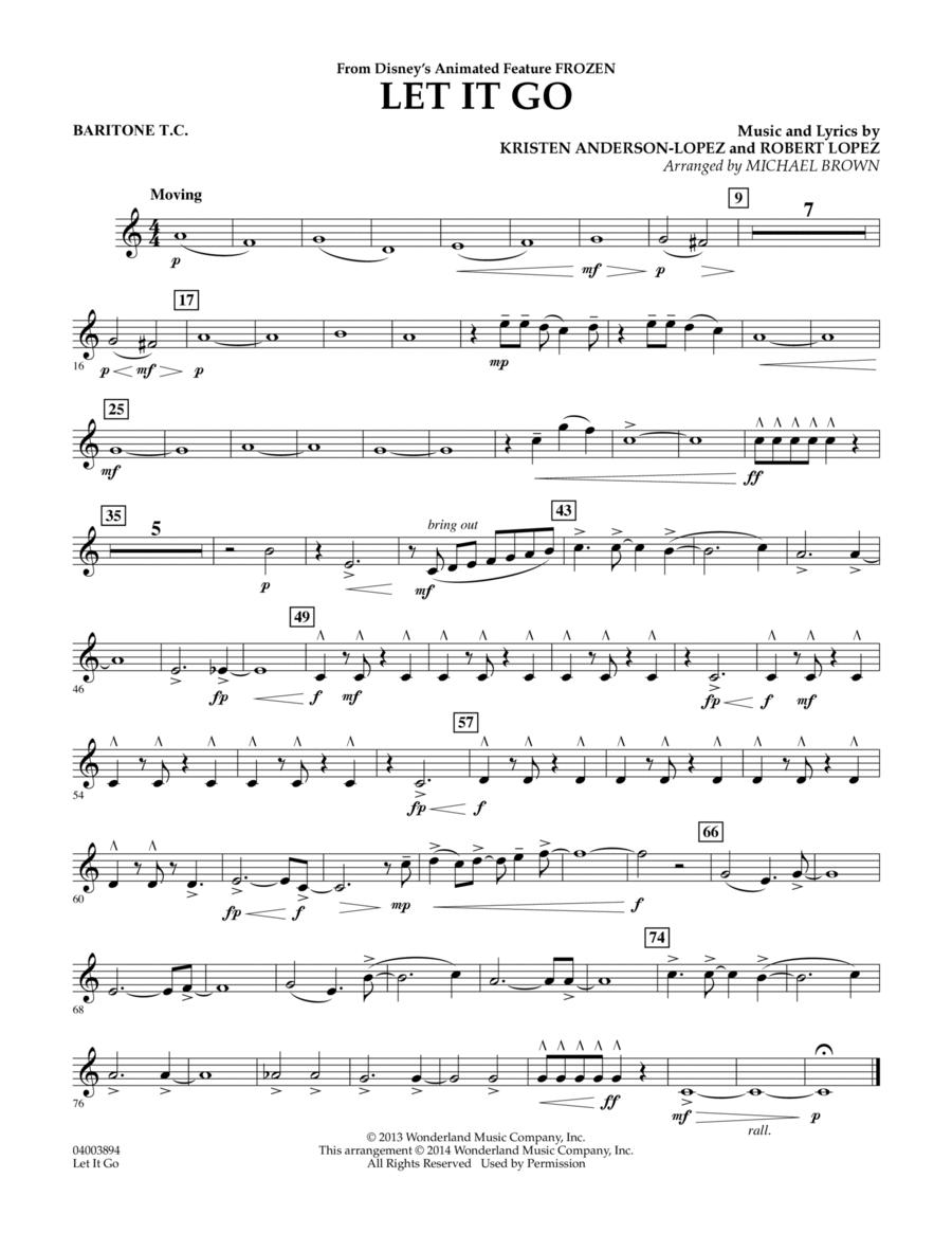 Let It Go - Baritone T.C.