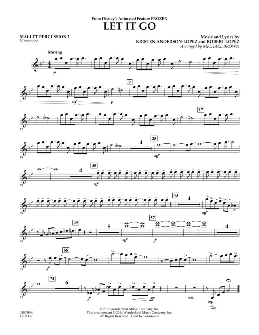 Let It Go - Mallet Percussion 2