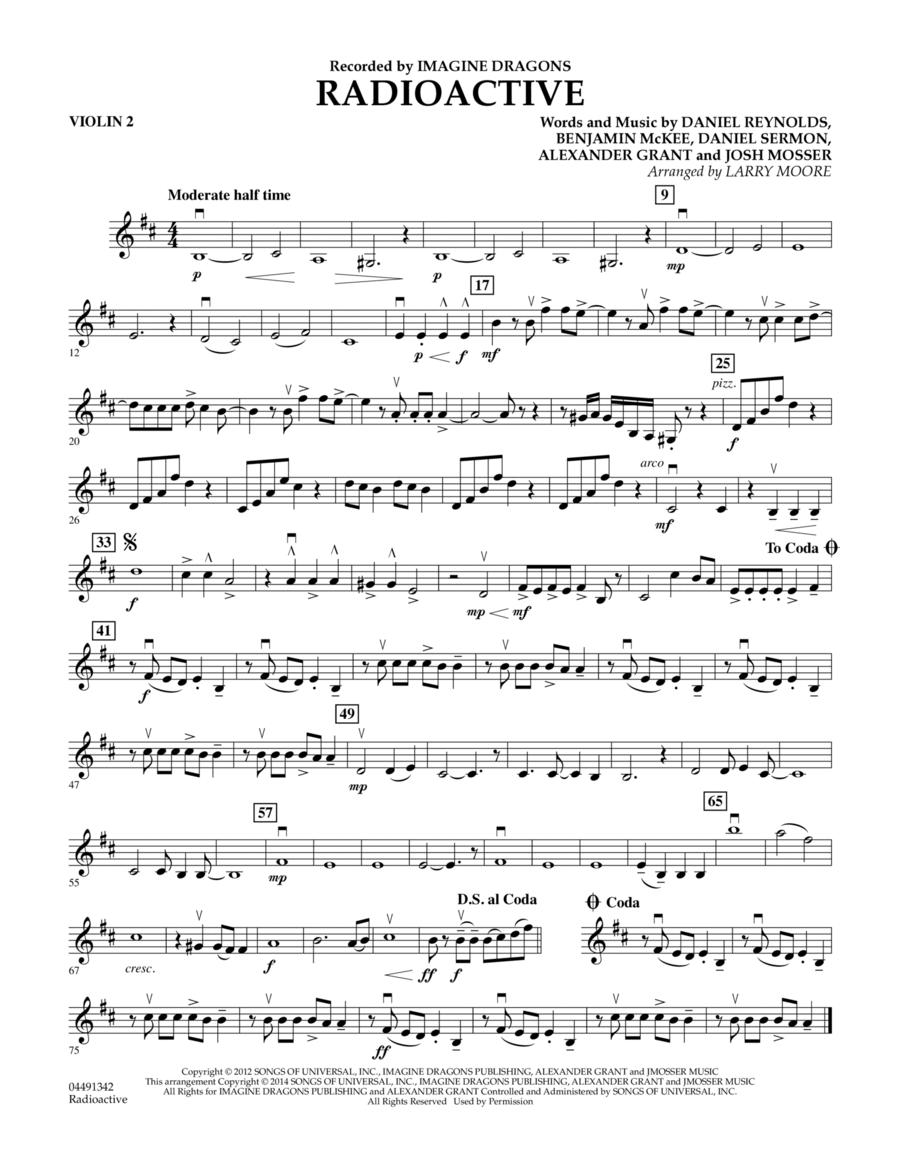 Radioactive - Violin 2