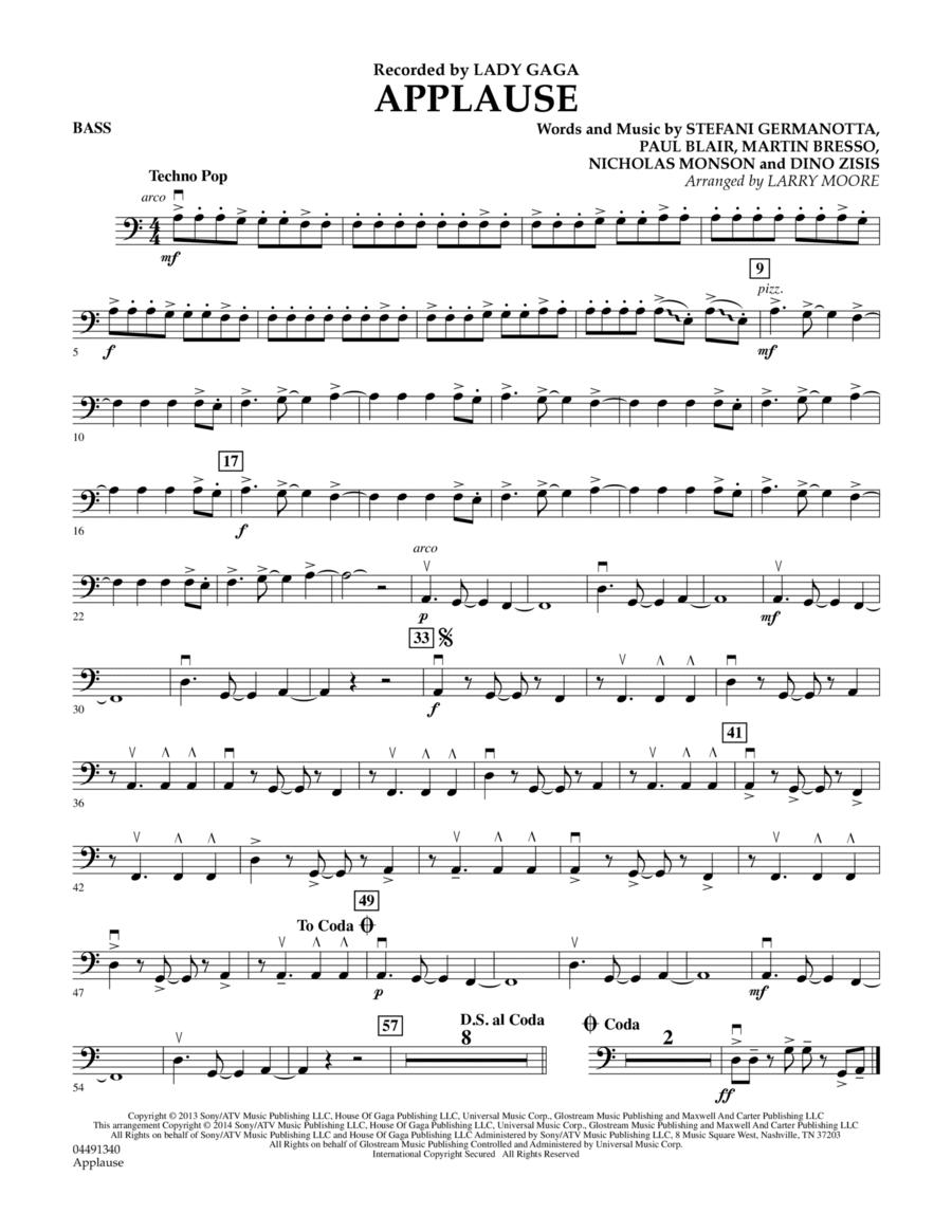 Applause - Bass