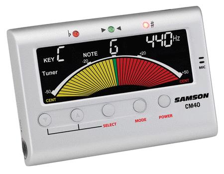 CM40 Chromatic Tuner / Metronome
