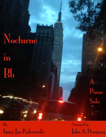 Nocturne in Bb (in C): Romantic Piano