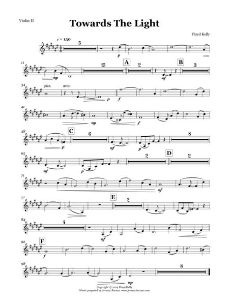 Towards the Light - Violin II part