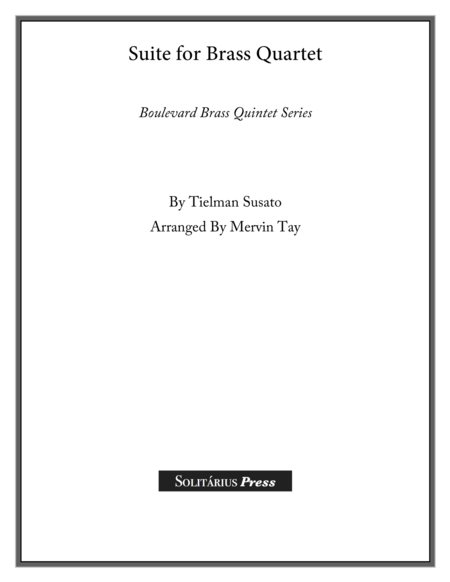 Suite for Brass Quartet and Percussion