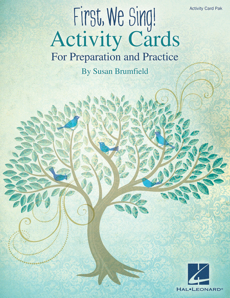 First, We Sing! Activity Cards