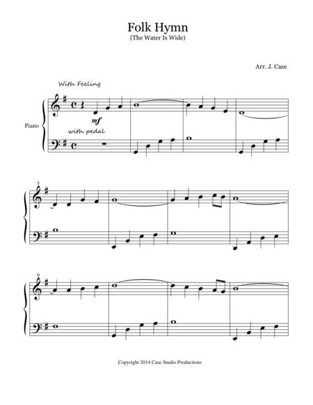 Folk Hymn (The Water is Wide)