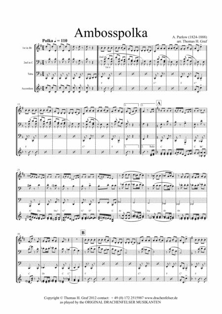 Amboss Polka (Quartet)