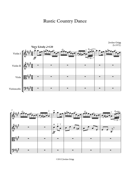 Rustic Country Dance