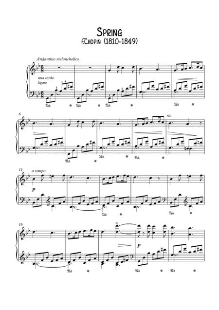 Spring by Chopin