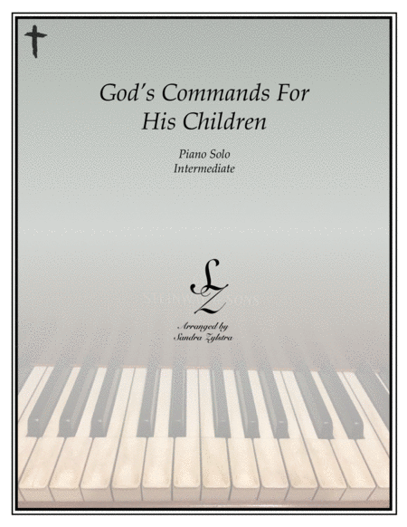 God's Commands For His Children