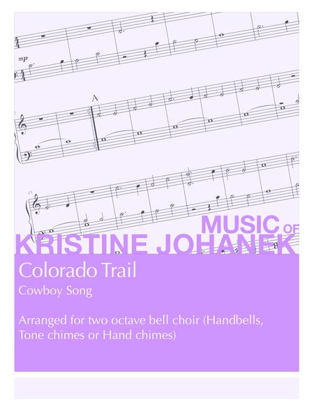 Colorado Trail (2 octave handbells, tone chimes or hand chimes)