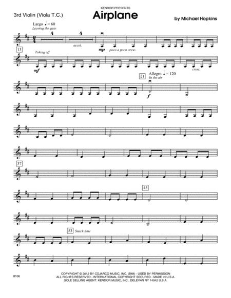 Airplane - Violin 3