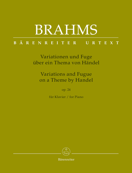 Variations and Fugue on a Theme by Handel for Piano op. 24