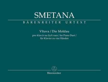 Vltava for Piano Duet