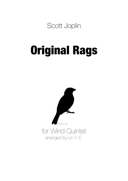 Scott Joplin - Original Rags for Wind Quintet