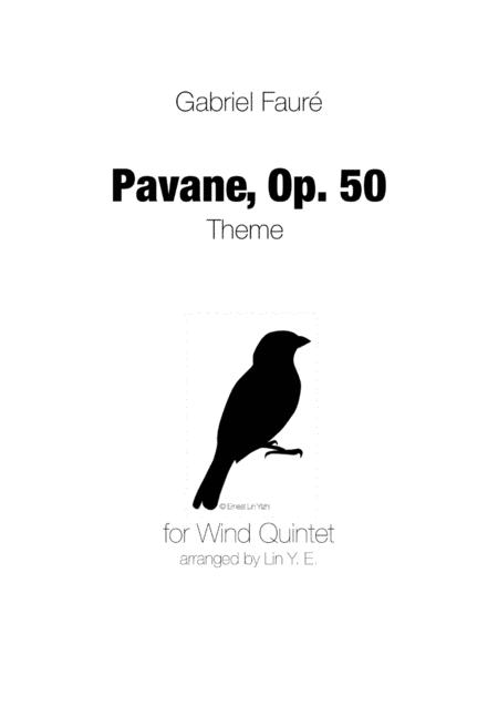Pavane (Faure) for Wind Quintet