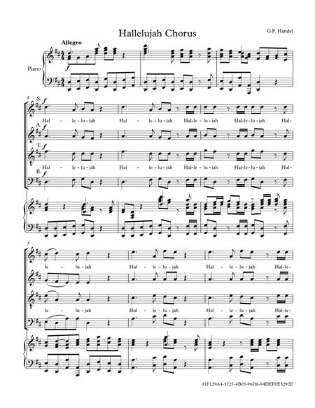 Hallelujah Chorus from The Messiah