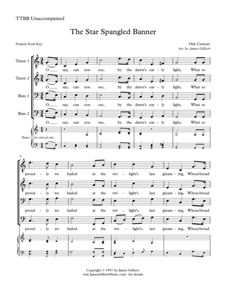 star spangled banner lyrics pdf