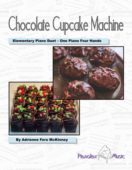 Chocolate Cupcake Machine - duet (with individual parts)