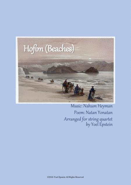Hofim - Israeli folksong for string quartet