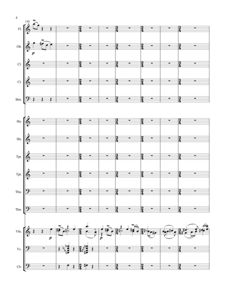 Suite for Violin and Chamber Orchestra Movement 2