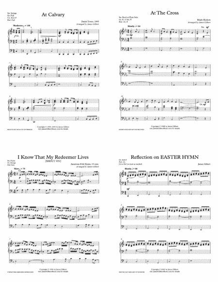 The Cross Medley: Selections for solo Organ