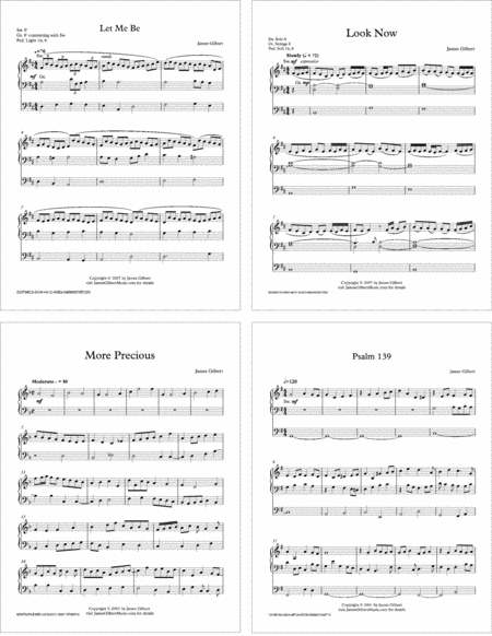 More Precious: A Collection of Sacred Organ Music