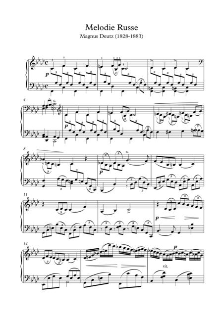 Russian melody