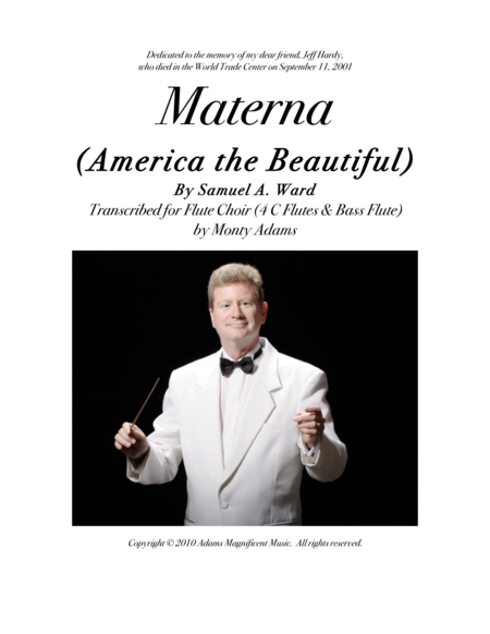 Materna (America the Beautiful) for Flute Choir