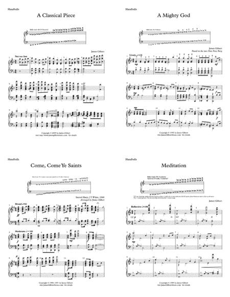 Sacred Selections for Handbell Choir