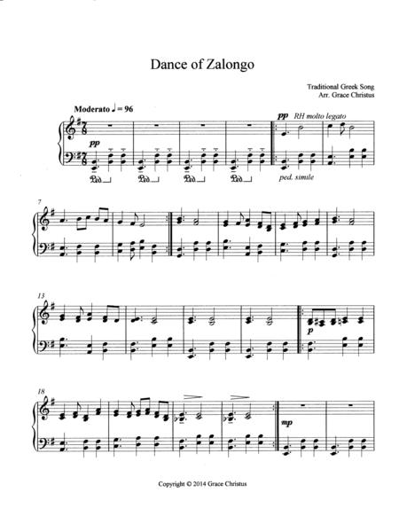 Dance of Zalongo