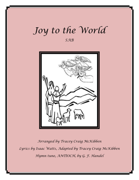 Joy to the World (SAB)